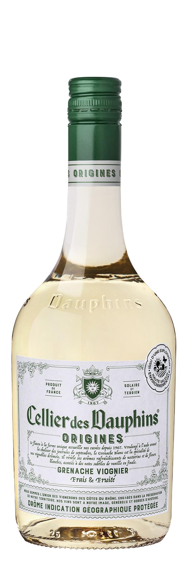 CDD ORIGINES IGP Drôme Blanc 75CL HVE
